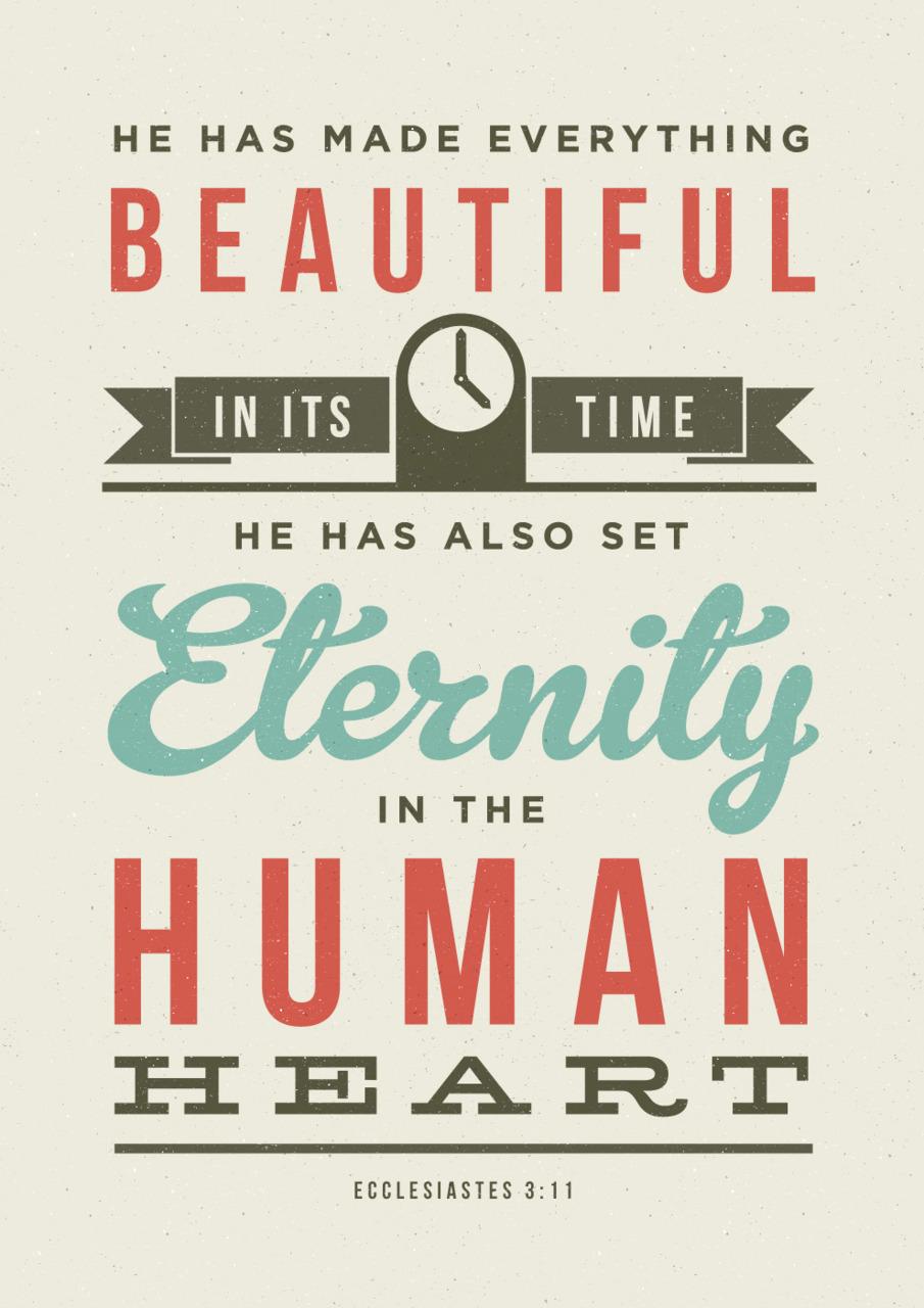 Eternity Focused Hearts...