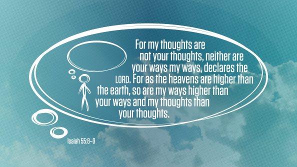 Isaiah 55-8-9